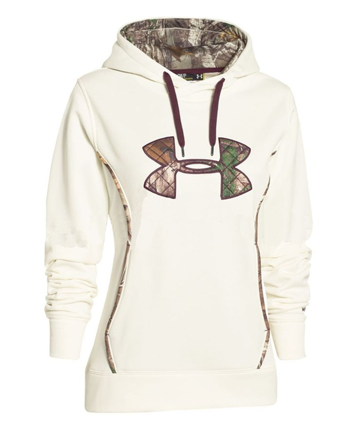 Look what I found on #zulily! Under Armour® Ivory Storm Caliber Hoodie by Under Armour® #zulilyfinds
