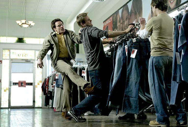 Breaking Bad....  Defending Walt Jr. One of my favorite scenes