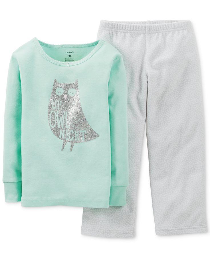 Carter's Baby Girls' 2-Piece Owl Pajamas - Kids Baby Girl (0-24 months) - Macy's