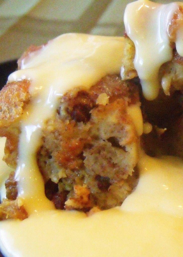 Irish Bread Pudding And Custard Sauce (1) From: Irish American Mom, please visit