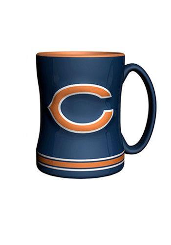 Chicago Bears 14oz Sculpted Relief Mug - 10161042