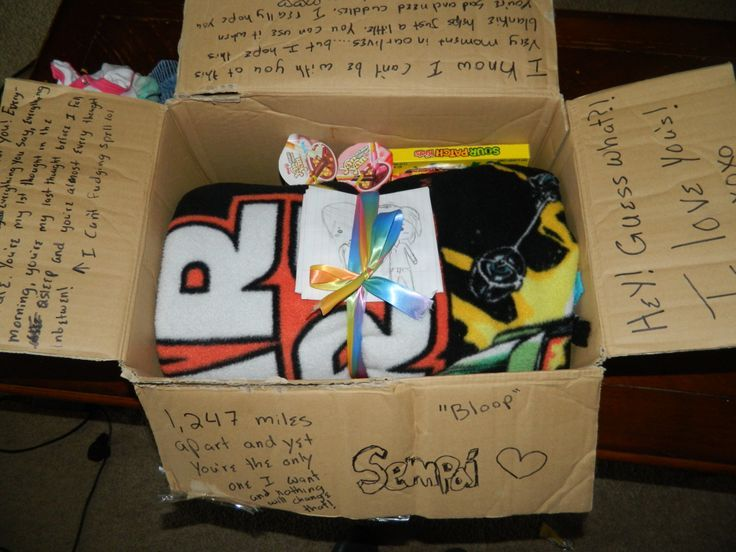 YAY okay so I'm sending my sempai today his 6 month jubilee present. His candy drawings I made and a star …