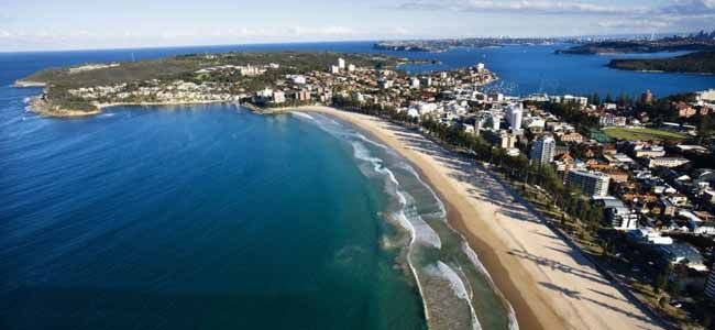 Manly Beach, Sydney, Australia - my local beach. Love it - come down and meet me there!!