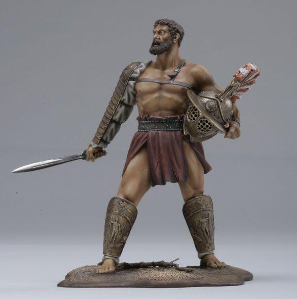 ГЛАДИАТОР. РИМСКАЯ ИМПЕРИЯ, II век.