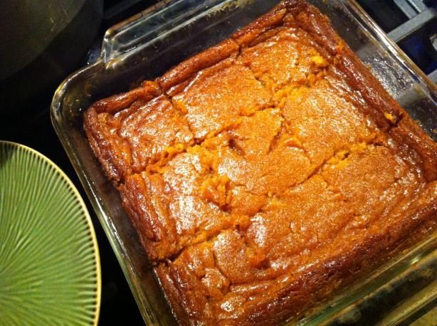 Persimmon Pudding. Photo by oh.donna Using GF four and adding pecans and maybe raisins. Oh and I think brandy would be good!