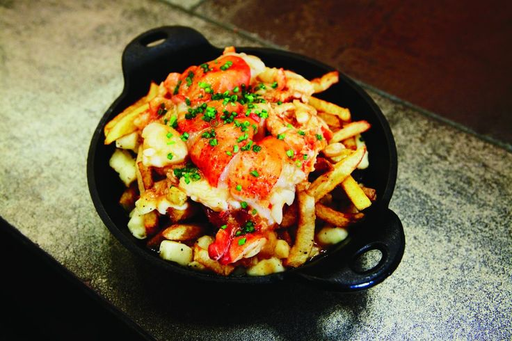 Chuck Hughes lobster poutine recipe