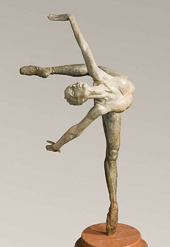 artnet Galleries: Flight in Attitude, Atelier by Richard MacDonald from Collection Privee de Peinture et de Sculpture