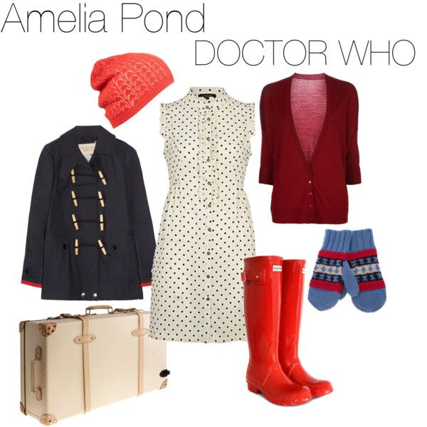 Outfit inspired by Amelia Pond. #DoctorWho
