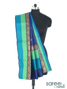 BLUE AND GREEN HANDL