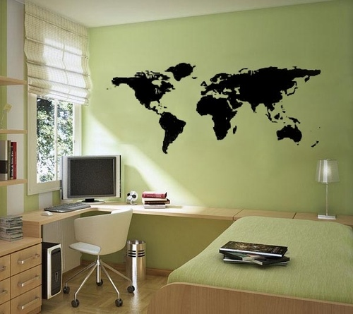 36 best wall decals images on pinterest wall decal wall clings world map wall decals and mural wall stickers duran gumiabroncs Choice Image