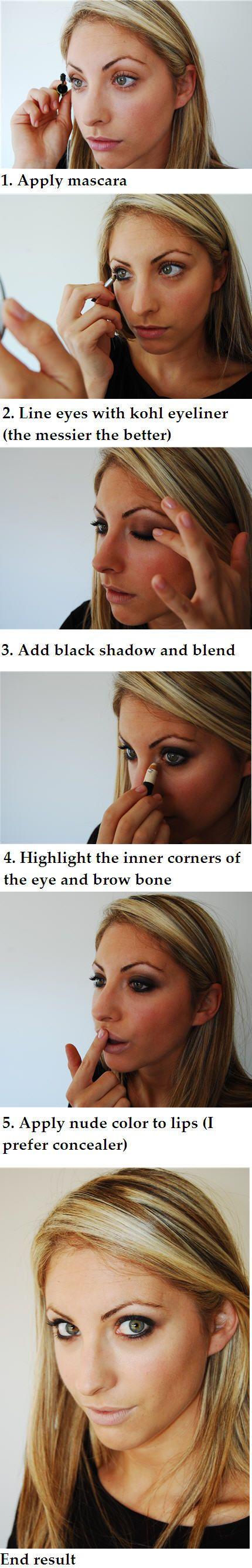 eye make-up: Smoky Eyes, Tutorials, Style, Smokey Eyes, Makeup, Eye Tutorial, Beauty, Eye Make Up
