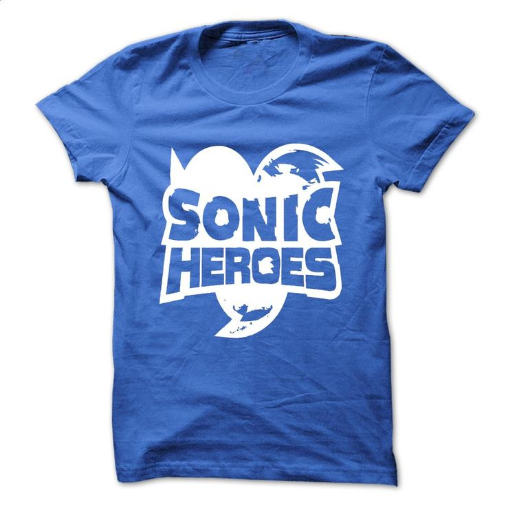 Sonic Heroes T Shirts, Hoodies, Sweatshirts - #polo shirt #t shirt design website. SIMILAR ITEMS => https://www.sunfrog.com/Video-Games/Sonic-Heroes.html?60505