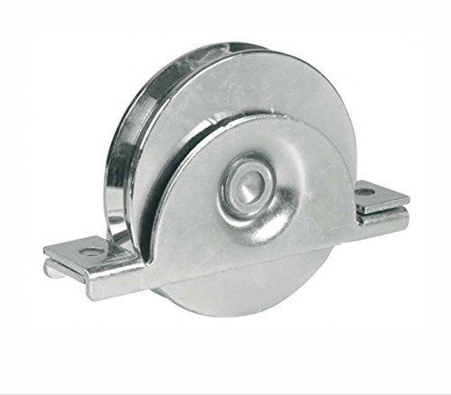 120mm de roue porte Poulie roue dans support, portail coulissant, très résistant pour barre 16mm: Dimensions des roulements de précision…