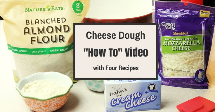 My Table of Three's step by step post and video on how to make her version of low carb and THM cheese dough.