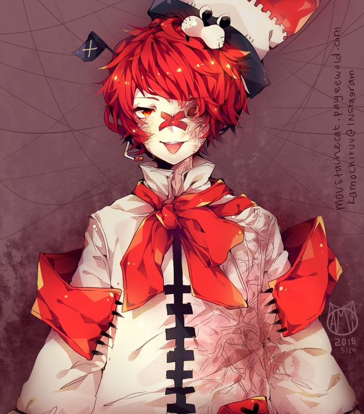 FUKASE by moustachecatofdeath Vocaloid characters