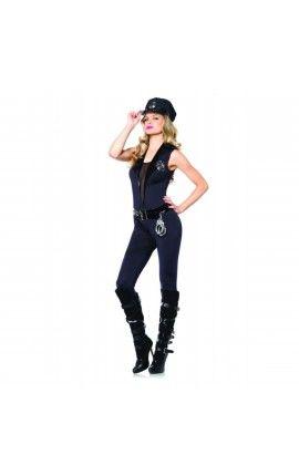 Disfraz de agente de policía sexy para mujer