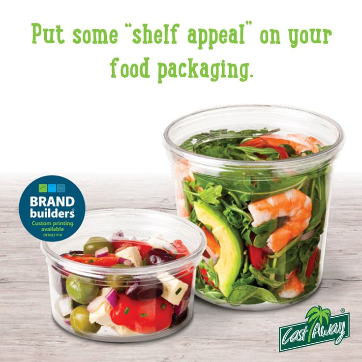 Did you know that most purchasing decisions are made in-store? Your packaging is often the first thing that attracts people to your product. Stimulate customers' appetite using crystal clear deli containers. See bit.ly/cadeliau  #deli #delicontainers #plasticfoodcontainers #takeawaycontainers #leakproof