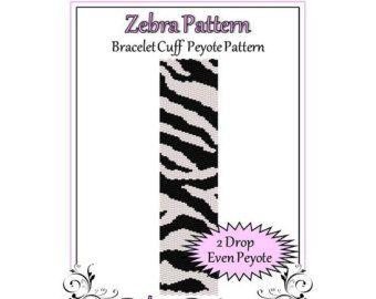 Bead Pattern PeyoteBracelet CuffQueen of от FUNPATTERNDESIGNS