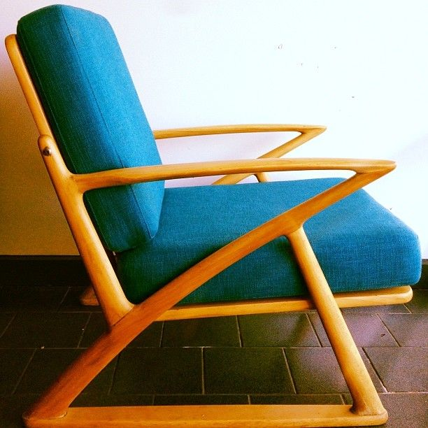 Fantastic z chair that just came in, and it sold straight away. Wonder why? #retro #vintage #midcentury #20thcentury