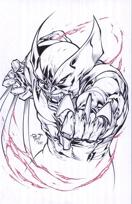 Wolverine by Tony Kordos