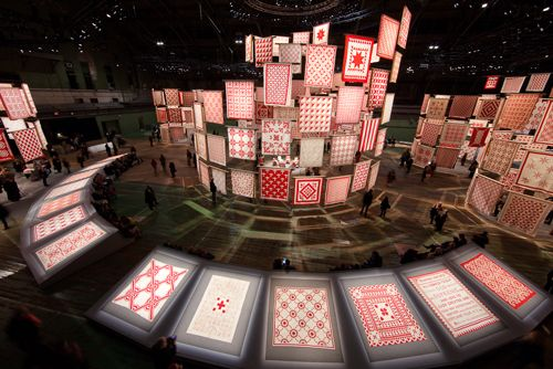 article on R quilt exhibit design with links to iPhone and iPad apps.