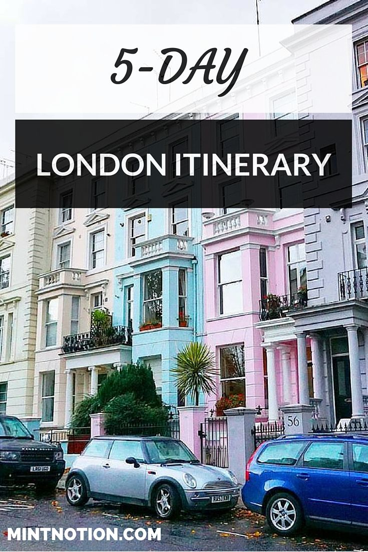 5-day London Itinerary for first-time visitors. This London guide is PERFECT for travelers on a budget. Find out how to visit the best attractions and neighborhoods in London for cheap.