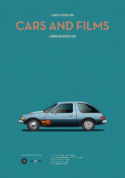 Cars And Film series, Jesús Prudencio: Wayne's World