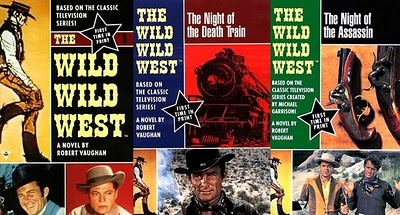 THE WILD, WILD WEST.  I loved this old TV show with Robert Conrad!!