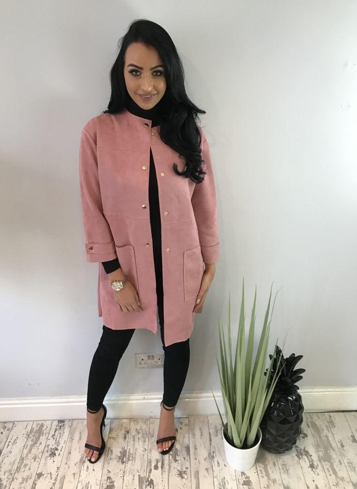 isabelle jacket blush size 10 / medium