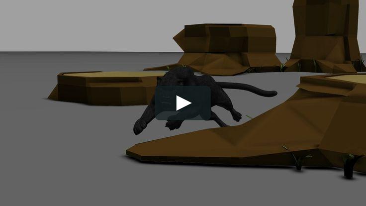 My Final animation form Ianimate creature class1 Rig form Ianimate