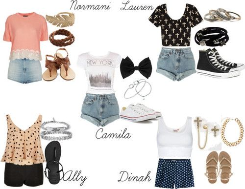 Fifth harmony outfits