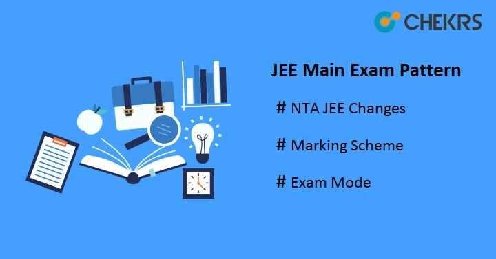 Jee Main Exam Pattern 2019 Check Now Marking Scheme Jee Exam Pattern