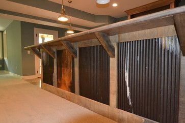 Custom Residence in Westfield #206 - rustic - basement - indianapolis - Hearth & Stone Builders