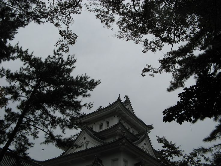 大垣城  Ōgaki Castle in Ōgaki-shi, Gifu