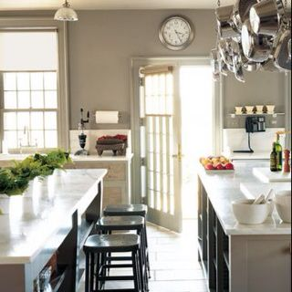 Kitchen - paint color - maybe a slightly lighter gray for my kitchen..hmm