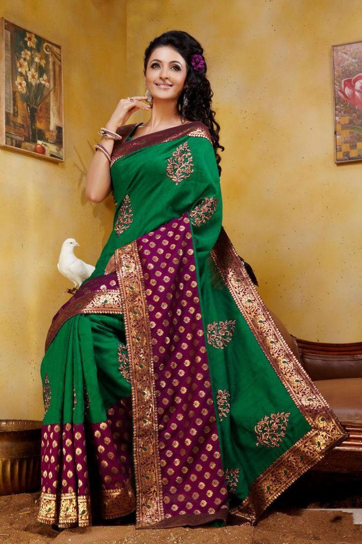 $101.16 Green Art Silk Saree 22847