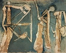 Roberto Matta - abstracts impressionist, surrealist