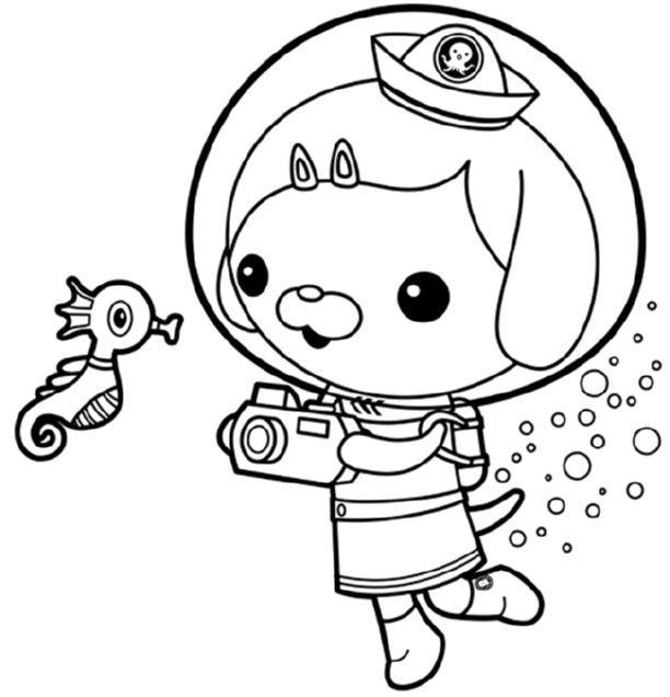 Http Kidscolouringpages Org Wp Content Uploads 2015 10 Octonauts Dashi Dog Online Printable Jpg Coloring Pages Free Coloring Pages Halloween Coloring Pages
