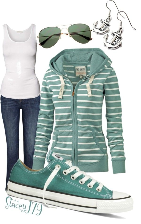 """""""Converse Contest - Lake Lovin'"""" by staceyj79 ❤ liked on Polyvore"""