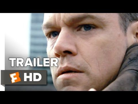 Jason Bourne Official Trailer #1 (2016) - Matt Damon, Alicia Vikander Movie HD - YouTube
