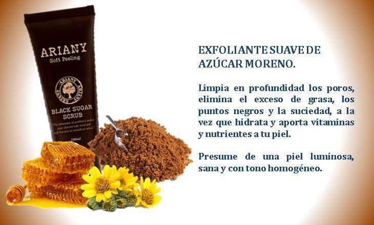 Exfoliante de azúcar moreno y miel www.youngmicosmetics.es