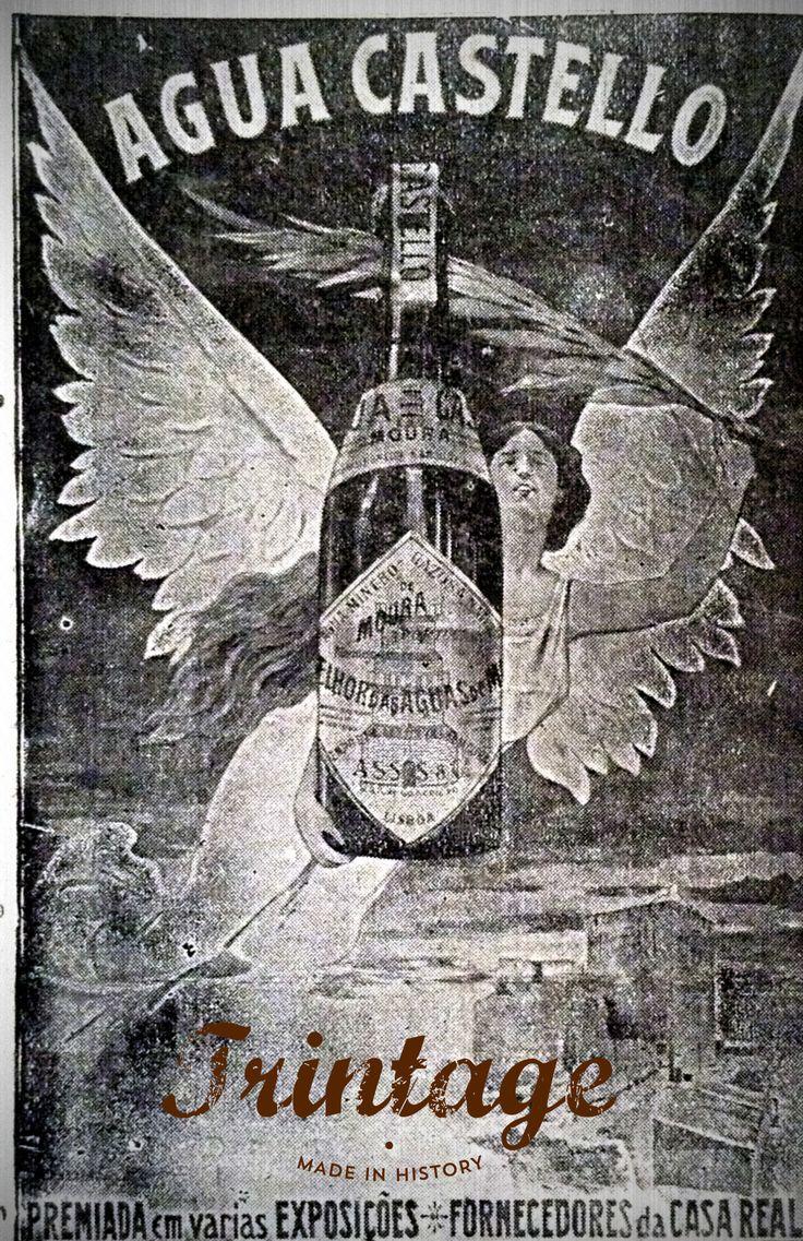 Agua Castelllo, premiada em várias exposições. 1907 Ilustração Portugueza nº73.