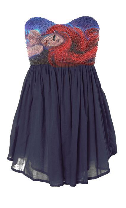 WANT!!! Little Mermaid dress :D