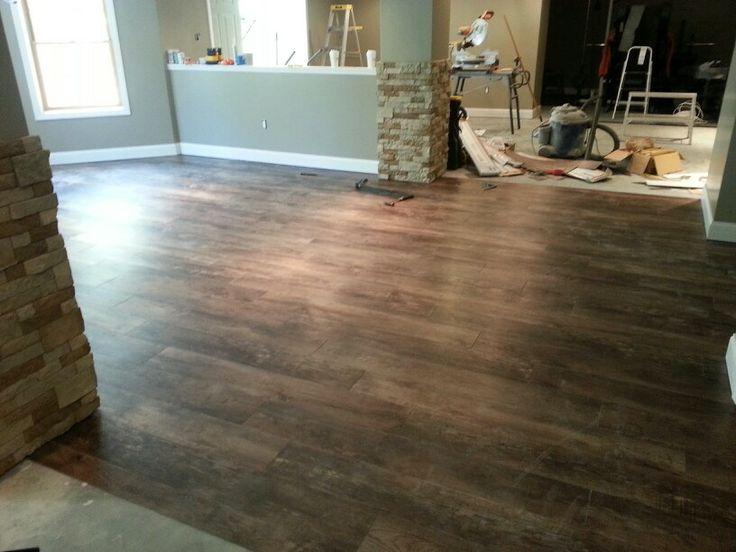 Vinyl snap together floating floor looks just like real for Hardwood floors that snap together