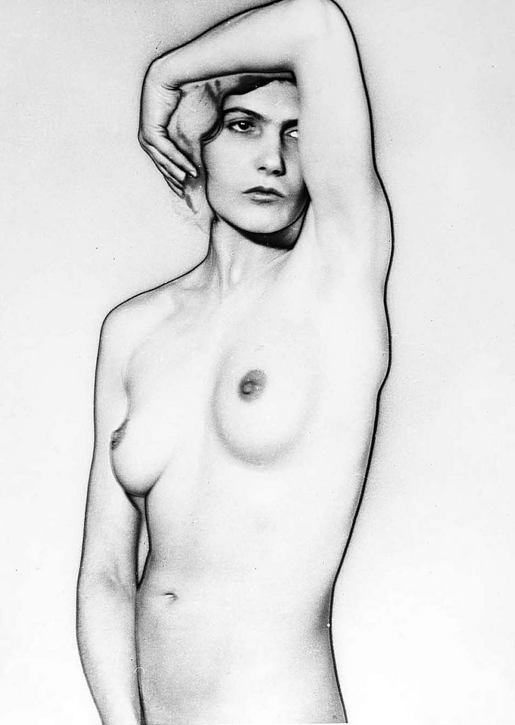 Man Ray used the Sabattier effect to question reality and disconnect the subject from the photograph