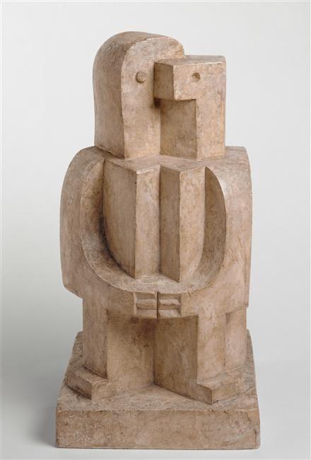 Jacques Lipchitz (1891-1973) was een Frans-Amerikaanse beeldhouwer. Hij ging in 1909 naar Parijs om kunst te studeren. Zonder geldige papieren (als Jood had hij een bijzondere reisvergunning nodig gehad) en ontmoette de kubisten Picasso, Gris en Archipenko. Gedurende de WO II moest Lipchitz als Jood Frankrijk ontvluchten. Hij vestigde zich in de VS, in 1958 werd hij Amerikaans staatsburger.