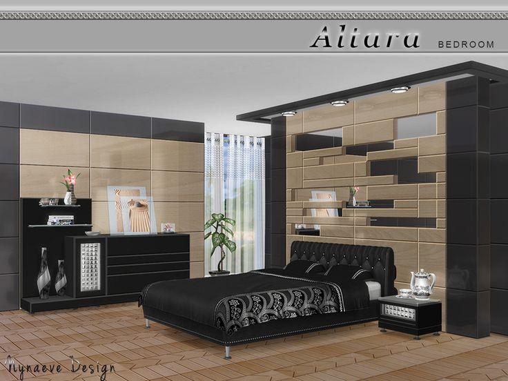 Altara la chambre de nynaevedesign sims 4 d coration for Chambre et literie