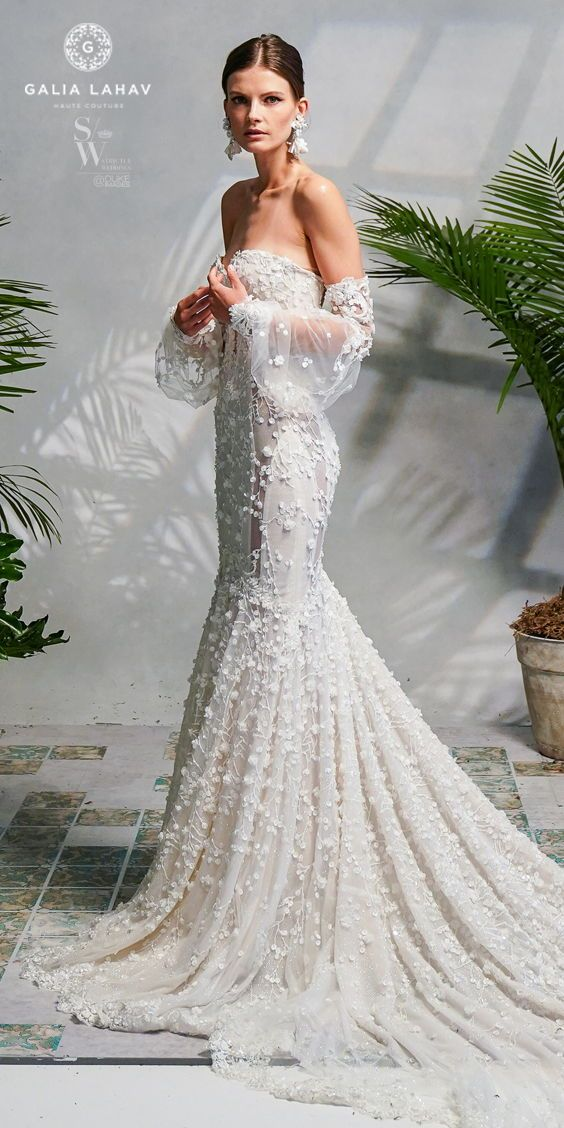 The newest release of #GaliaLahav wedding dresses remains steadfast on the deliv ...