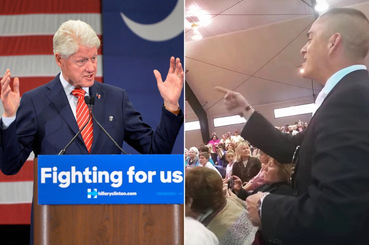 "Bill Clinton told a heckler who identified himself as a Marine to ""shut up and listen"" during a small-town South Carolina rally for his wife's presidential bid, video footage shows. Clinton was 40 …"