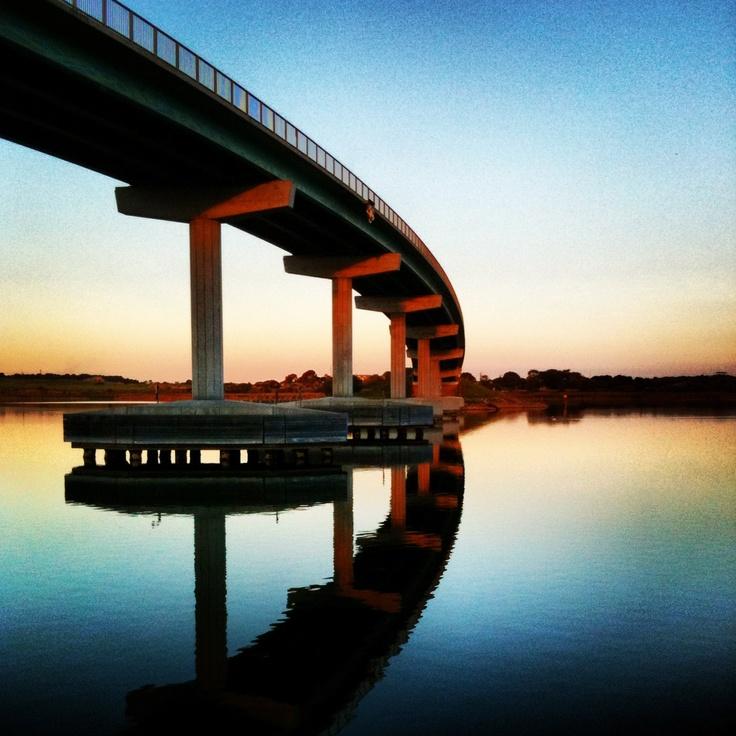 Bridge between Goolwa and Hindmarsh Island, South Australia